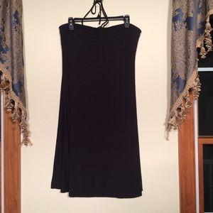 New York & Company L black dress. Stretch.